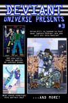 Deviant Universe Presents #3 by mja42x