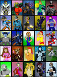 Deviant Universe Character Select by mja42x