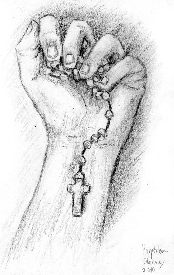 Rosary By Magianna On Deviantart