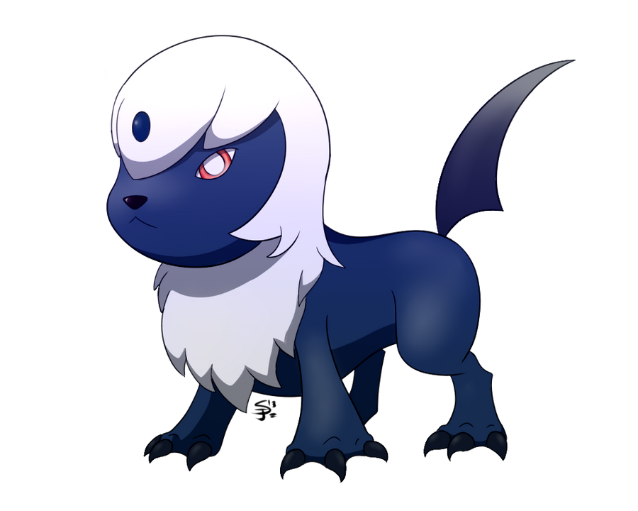 Absol pre evolution laurelman commission by spotted - Absol evolution ...