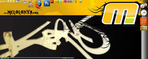 My Desktop mid 2008 by melolonta