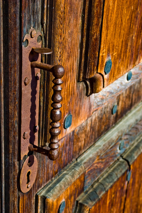 Spanish Mission Door By Klausalan On DeviantArt