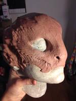 Snakey Half mask
