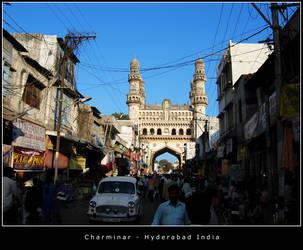 Charminar Hyderabad by renderslender
