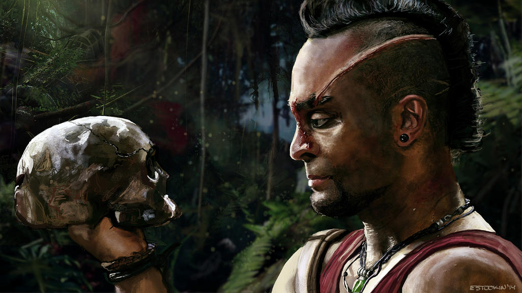 Delirium Vaas Montenegro Far Cry 3 By Estookin On Deviantart