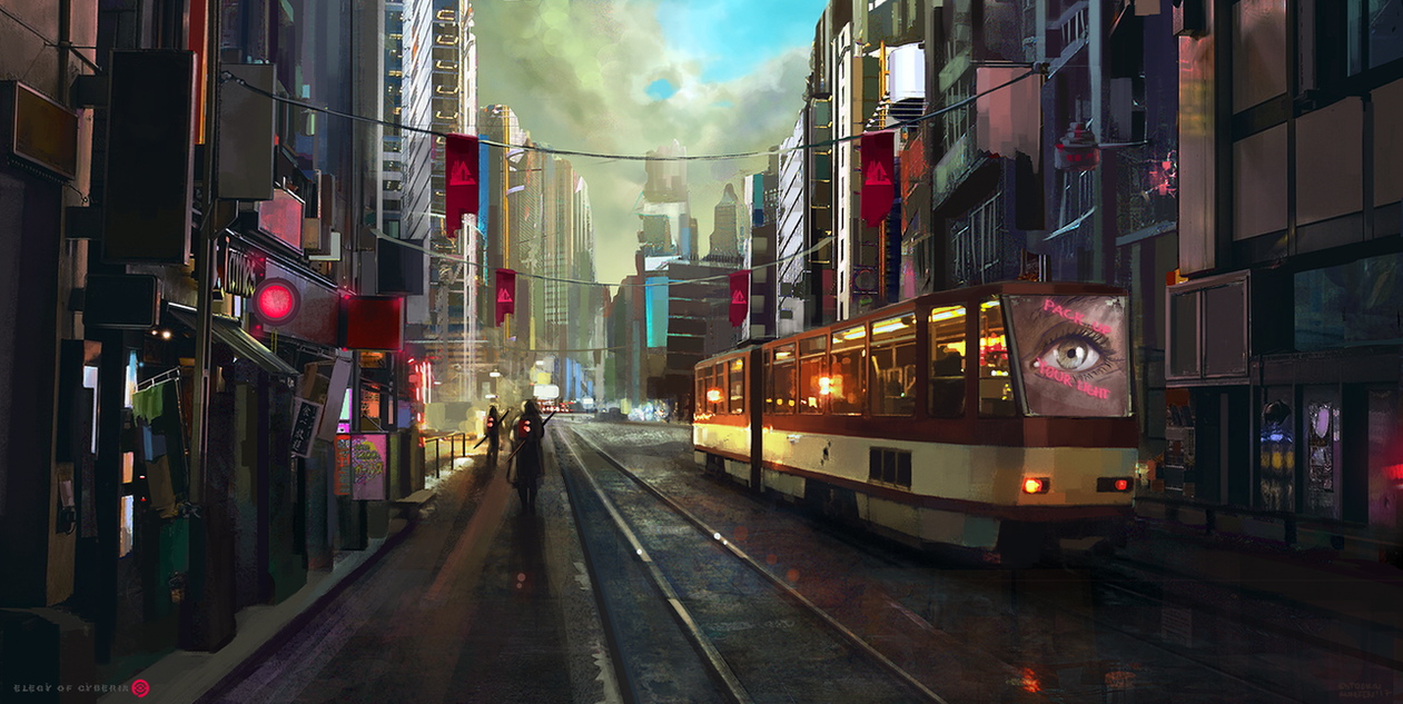 EOC- Retro City by Estookin