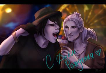 Antoine and Hugo by Crazy-Zeitgeist