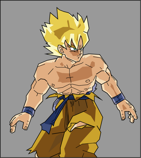 goku super saiyan 4 gogeta. Vegeta and Goku Super Saiyan 2