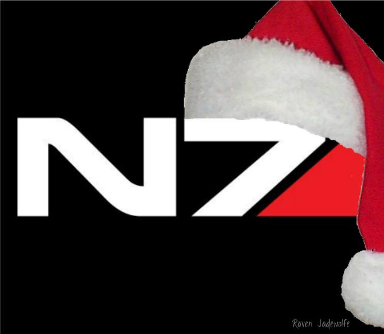 N7 Logo with Santa Hat by Raven-Jadewolfe on DeviantArt