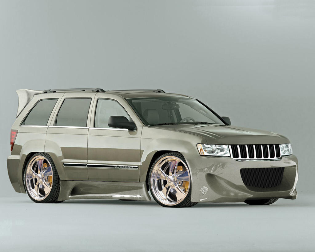 jeep grand cherokee tuning by flamingline on deviantart. Black Bedroom Furniture Sets. Home Design Ideas