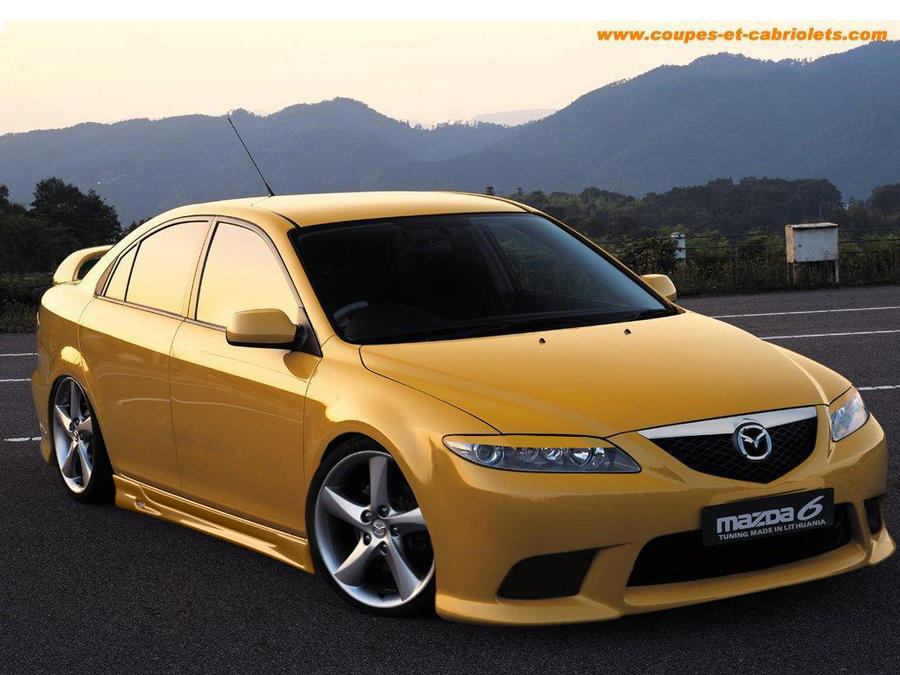 mazda 6 tuning by flamingline on deviantart. Black Bedroom Furniture Sets. Home Design Ideas