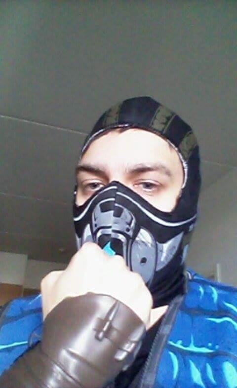 Mortal Kombat - Sub-Zero costume by TeriosShadow15