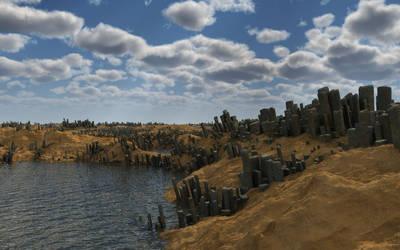 Ruins landscape-01