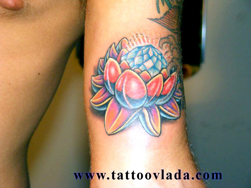 lotus flower - flower tattoo