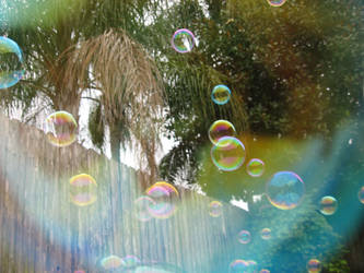 Bubbles behind a Bubble by theartisticnerd