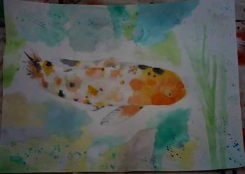 Koi Fish Final by theartisticnerd