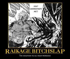 Raikage Motivational Poster by DarksStars