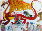 Christopher Robin and friends: THE HOBBIT by masonthetrex