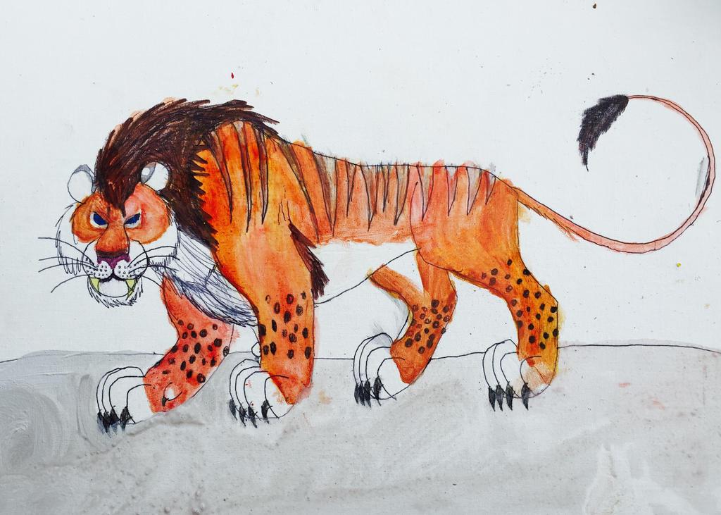 Lion Man Cave Art : Kingo the cave lion by masonthetrex on deviantart
