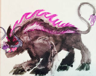 Dark Beast Ganon by masonthetrex