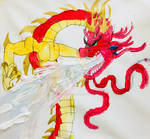 Blaze the ice dragon by masonthetrex