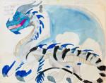 Ice Dragon by masonthetrex