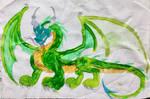 GREEN DRAGON by masonthetrex