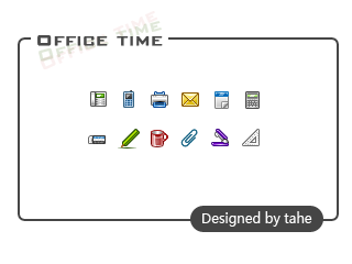 Office time by tahestyle