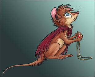 SoNIMH : Mrs.Brisby by ClownCarOnFire