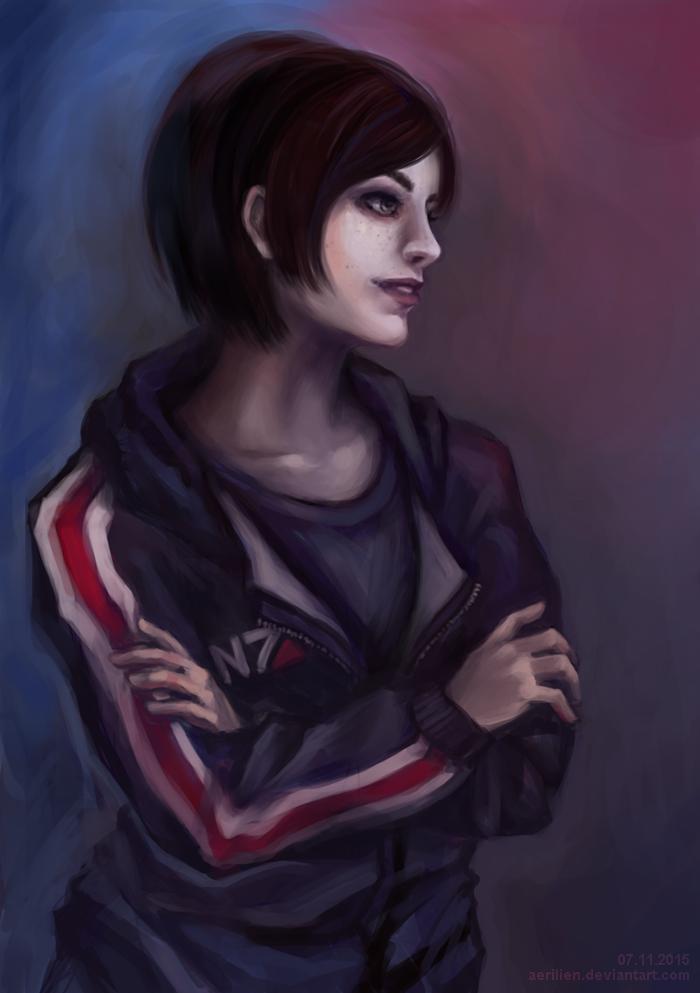 ME: Shepard by Aerilien