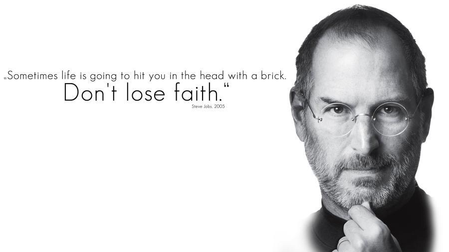 Steve Jobs Memorial Wallpaper By Wybi