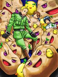 Invasion by Potatoes by Nana-Boshi