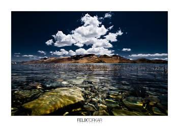 Tibetan Waterscape by FelixTo