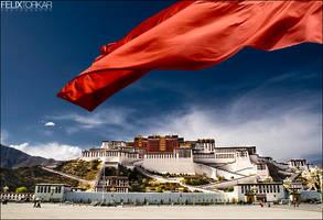 Tibetan Riots by FelixTo