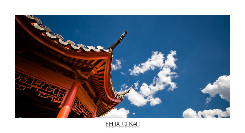 Chinese Garden by FelixTo