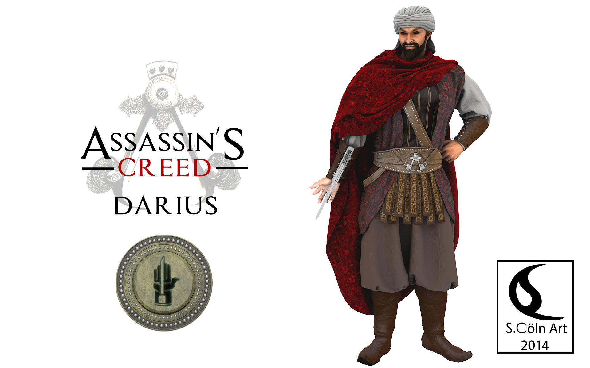 Assassin S Creed Darius 3 By Yowan2008 On Deviantart