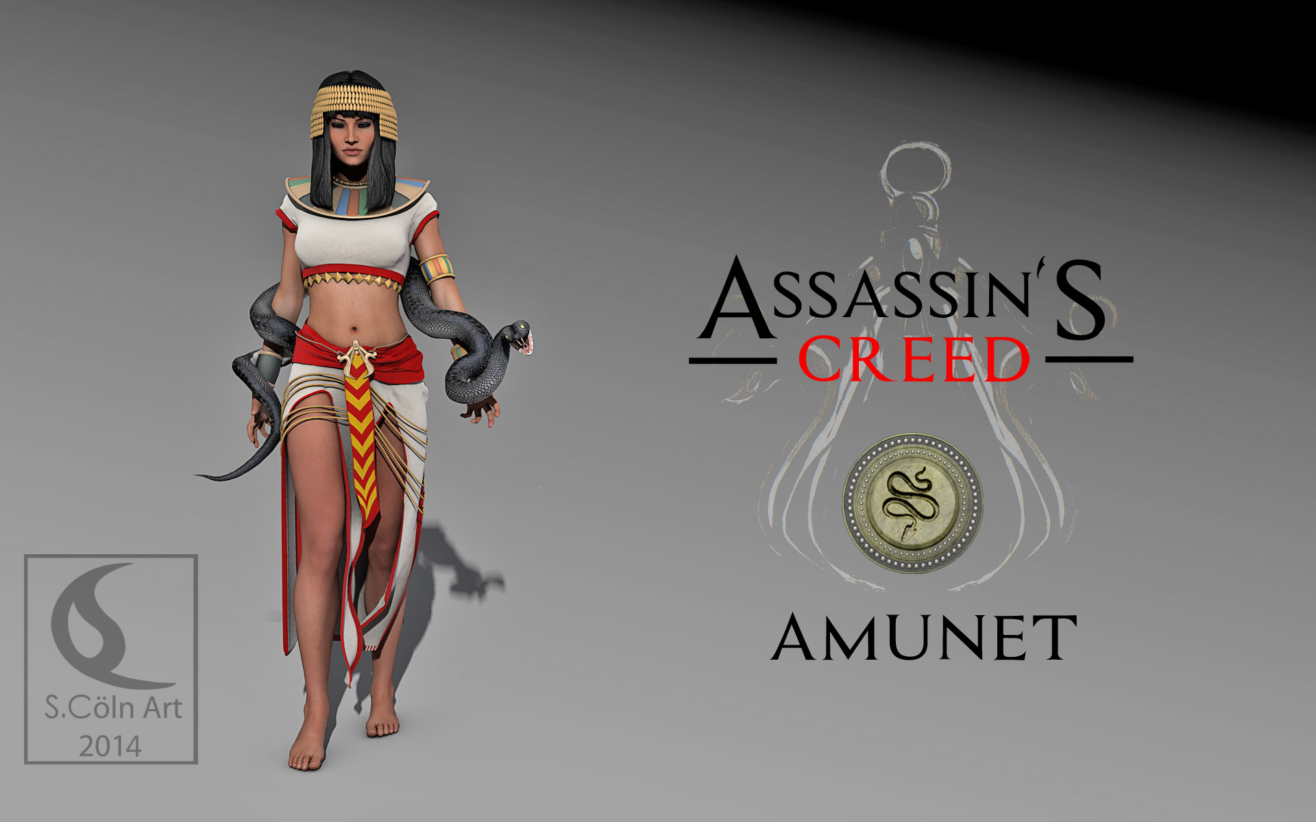 Assassin S Creed Amunet 2 By Yowan2008 On Deviantart