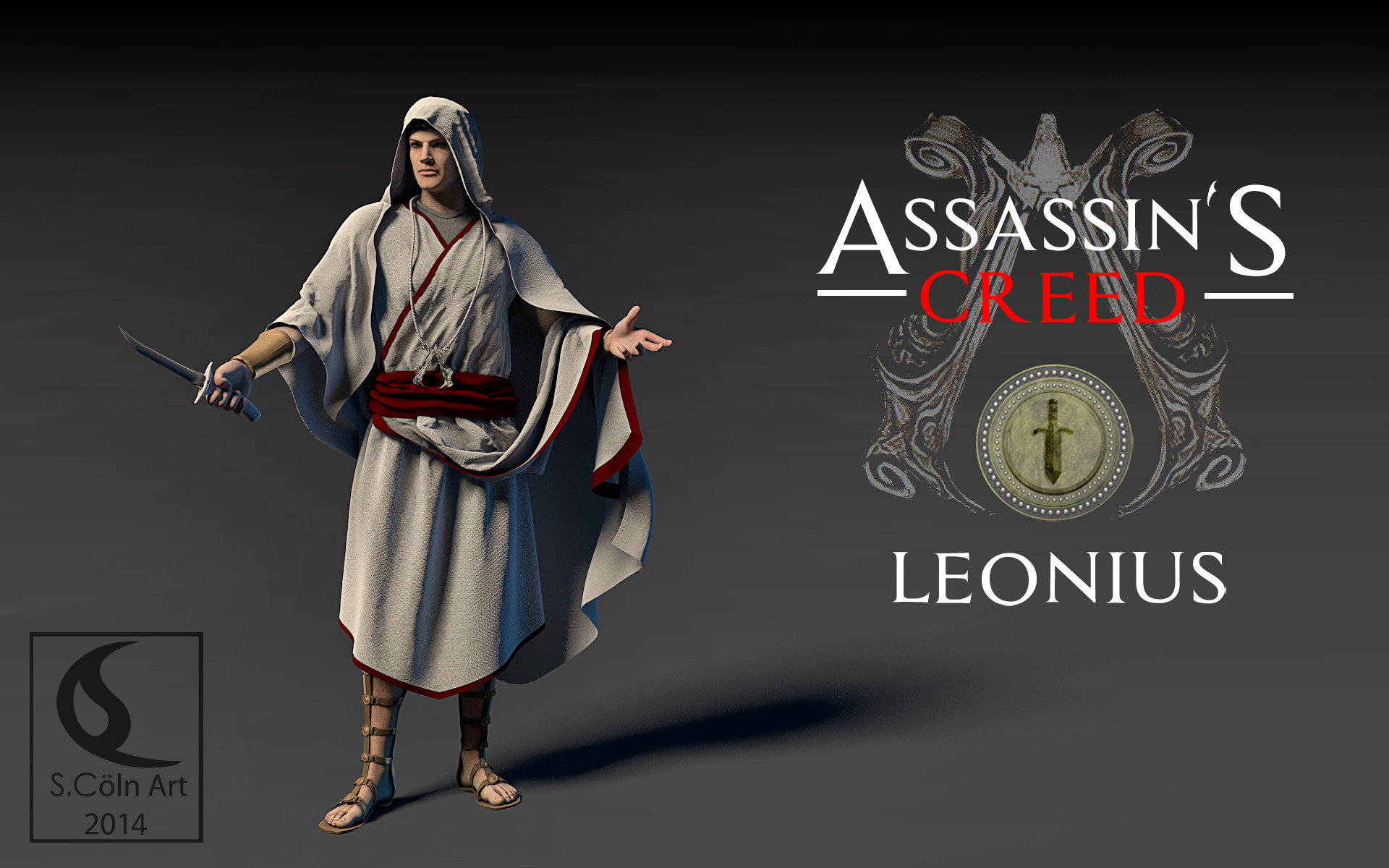 Assassin S Creed Leonius 1 By Yowan2008 On Deviantart
