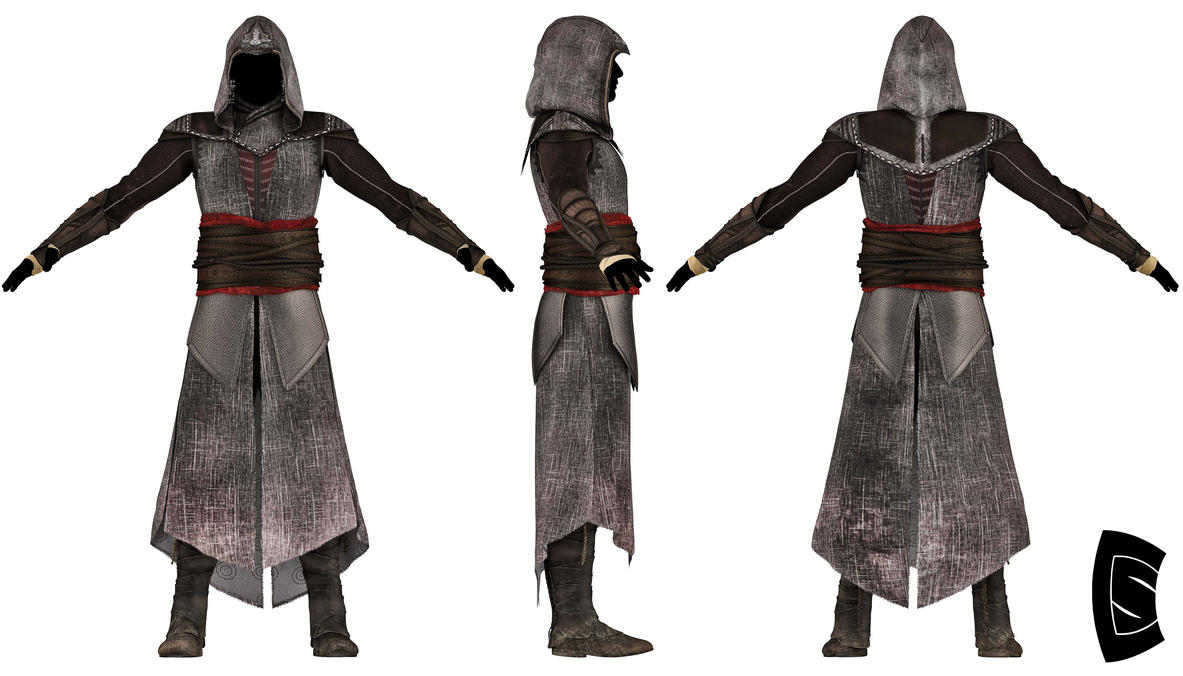Assassin's Creed Aguilar robe 4 by Yowan2008