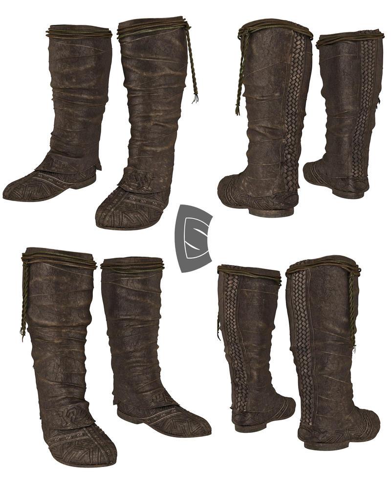 Aguilar Boots UPDATE by Yowan2008
