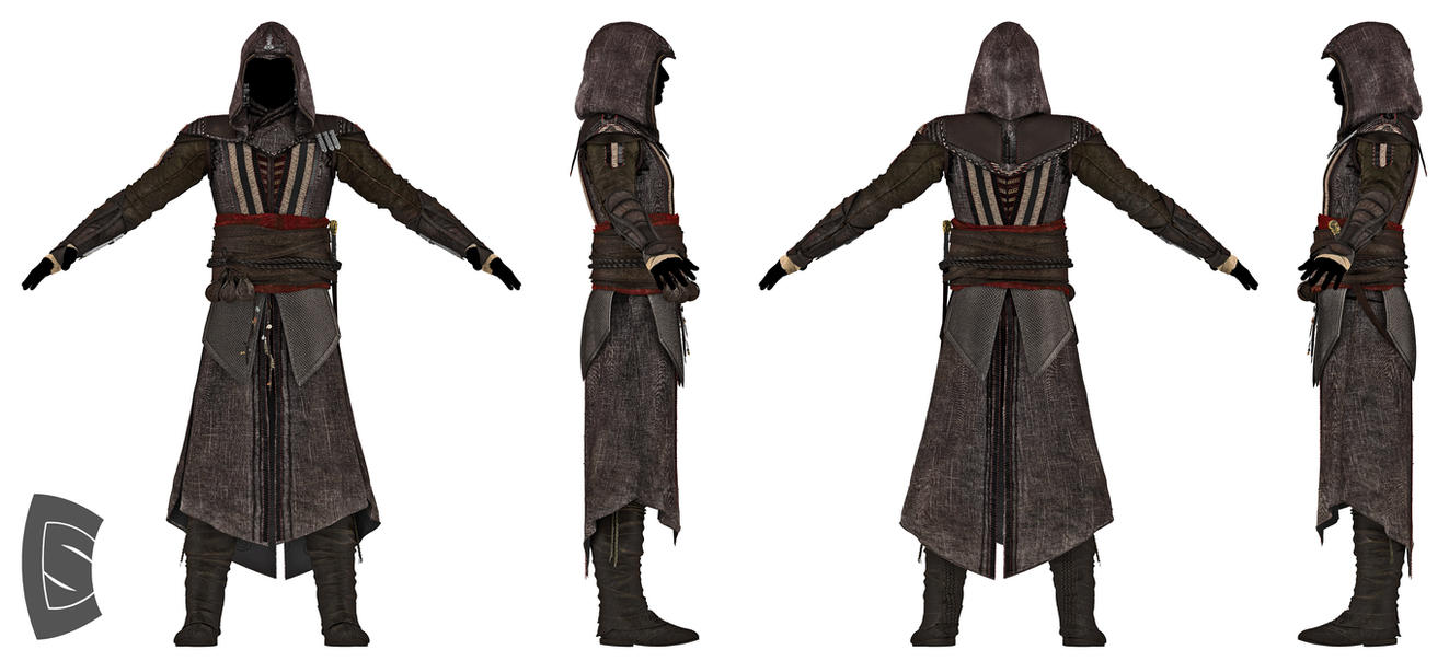 Assassin's Creed Aguilar robe 5 by Yowan2008