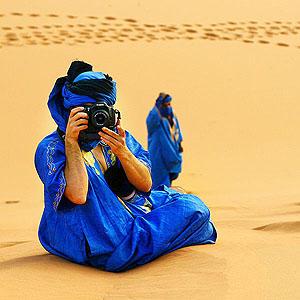 Yo en Merzouga, Marruecos by CesarMartin
