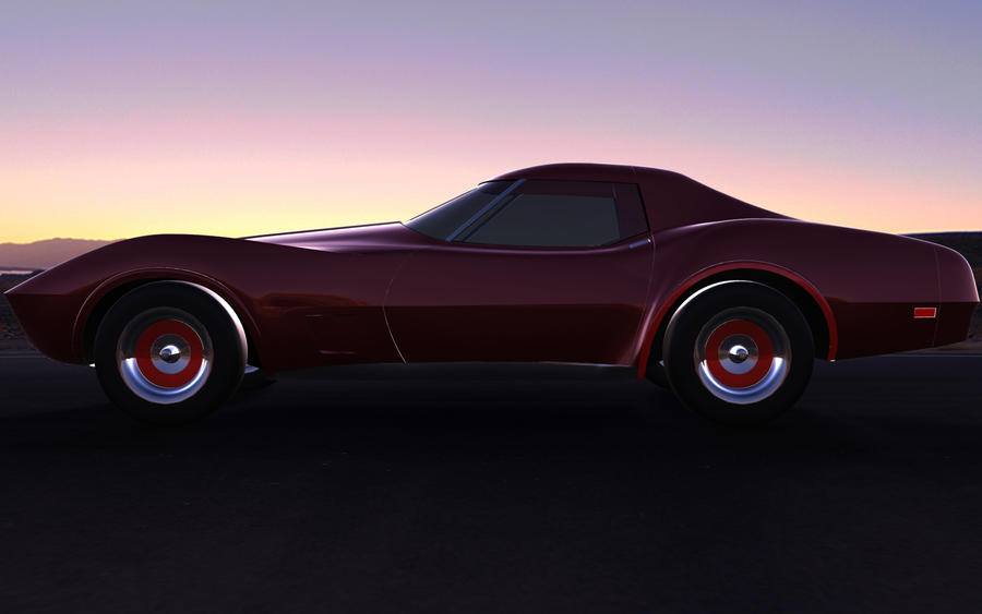 1969 corvette wallpaper