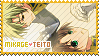 Stamp: Mikage x Teito - 07 Ghost by MikuFregapane