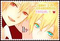 Big Stamp: Yeah I'm Len Kagamine fangirl by MikuFregapane