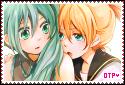 BIG Stamp: LenMiku - Vocaloid by MikuFregapane