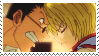 Stamp: Leorio x Kurapika (Hunter x Hunter) by MikuFregapane