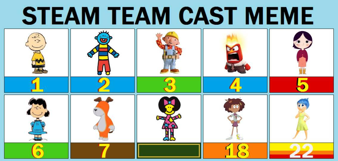 in roblox game how do i kick lucys football Steam Team Cast Fanmade Version By Weilenmoose On Deviantart