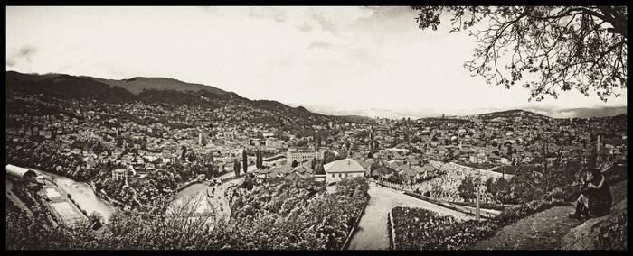 Looking at Sarajevo