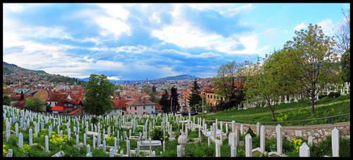 Sarajevo evening